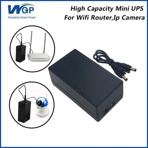 Home Use Mini Ups 12V 1A Output Li Ion Battery Cell Power Dc Online