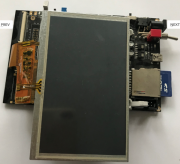 Controlling TFT LCD using RGB interface