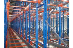 Heavy -duty Radio Shuttle Racking System Warehouse Storage