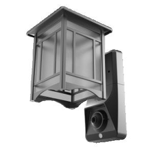 Video Security Camera & Outdoor Light