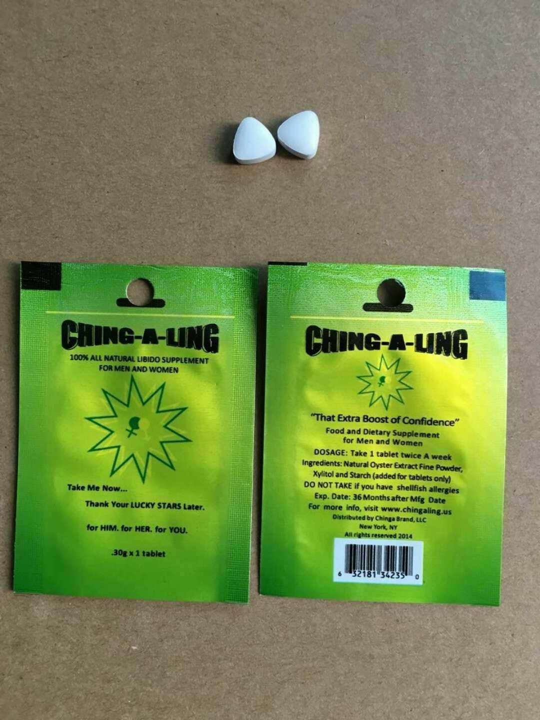 Ching-A-Ling 100 All Natural Libido Supplement Male -3752