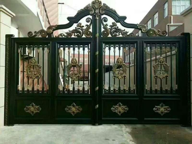 House Aluminium Gate Design / Steel Sliding Gate / Aluminum Fence Gate  Designs