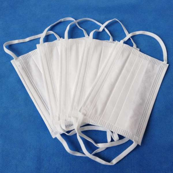 White Surgical Medical Procedure 3 ply Earloop Disposable Face Mask