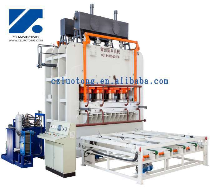 High Quality Melamine Press Machine For Laminate Flooring And Wall