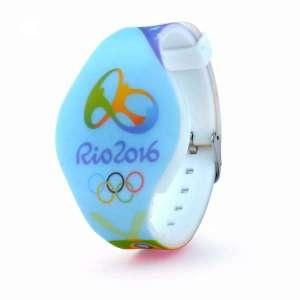 Colorful silicone wristband custom silicone bracelet with logo