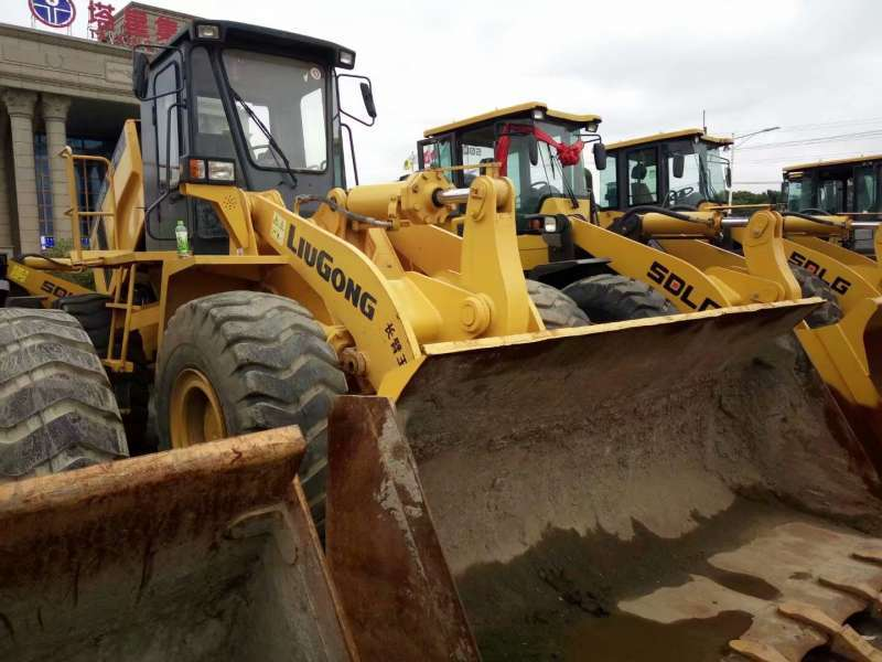 Used LiuGong CLG856 Wheel Loader In Excellent Condition