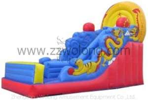 Inflatable Slide-Dragon Chair Slide
