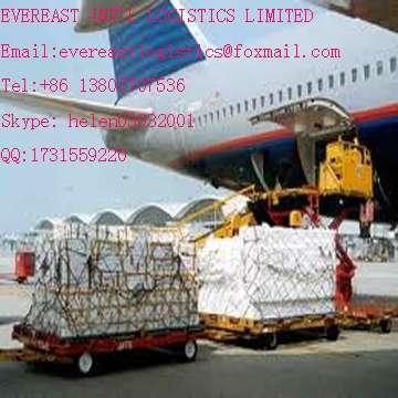 空运货物门到门运输到丹麦深圳,中国