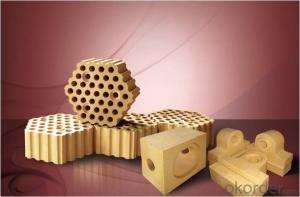 Silica brick for hot blast furnace