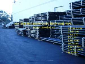 """1.5"""" to 15"""" ASTM A888 CISPI 301 Cast Iron Soil pipe for drainage and vent"""