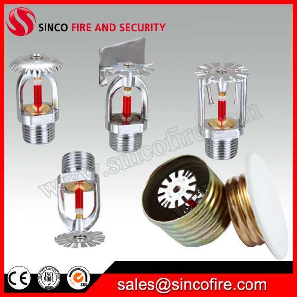 Brass Fire Sprinkler Heads For Fire Fighting System