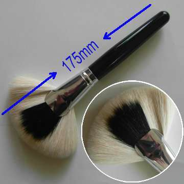 Suprabeauty goat hair makeup fan brush