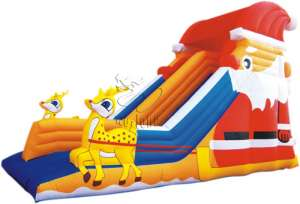 Inflatable Slide-Christmas Slide