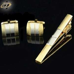 批发定制金属领带夹与定制标志