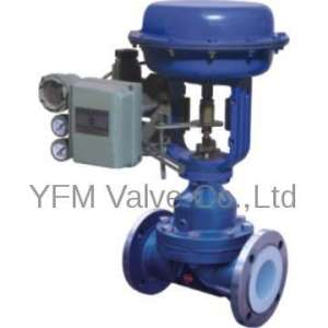 PFA lined Weir type Diaphragm Valves Worm gear Like