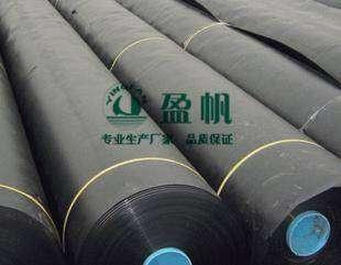 高密度聚乙烯(HDPE)为geomembrane