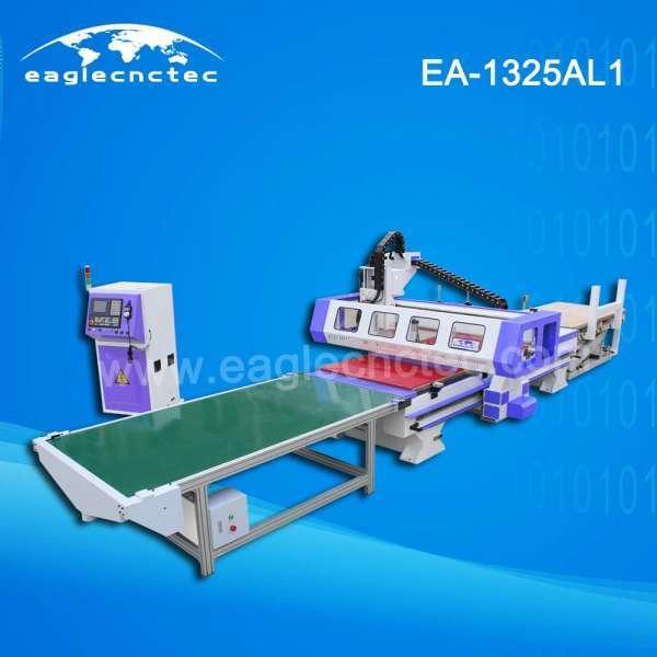 板式家具自动装卸数控木材切割机