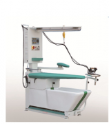 Ironing Board With Spotting Gun, Vacuum Arm And Iron