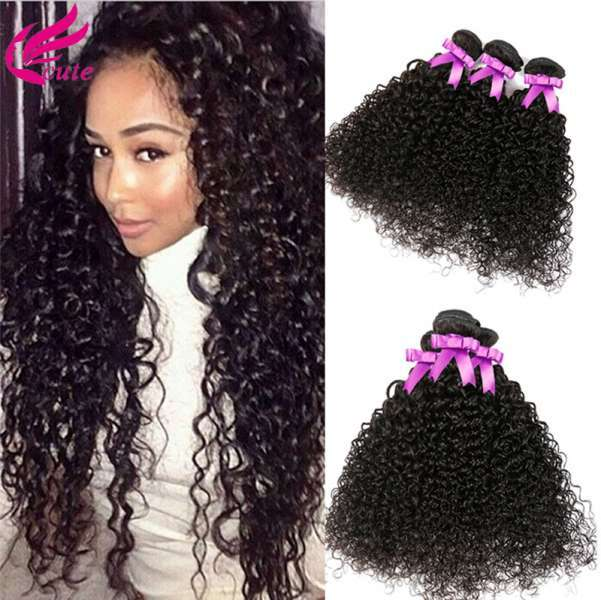 Mongolian Kinky Curly Virgin Hair 4 Bundles Mongolian Curly Human