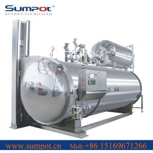 Food Sterilizer Autoclaves for canned meat