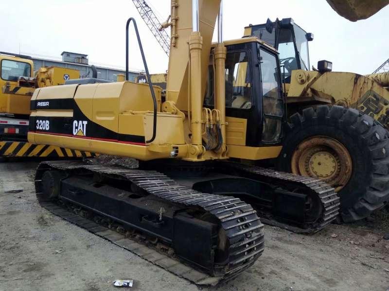 Origial Japan Used CAT 320B Excavator in good condition