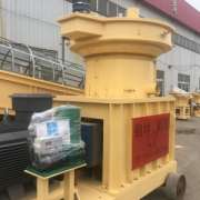 Agricultural Waste Straw Stalk Animal Poultry Feed Sawdust Biomass Wood Pellet Making Machine