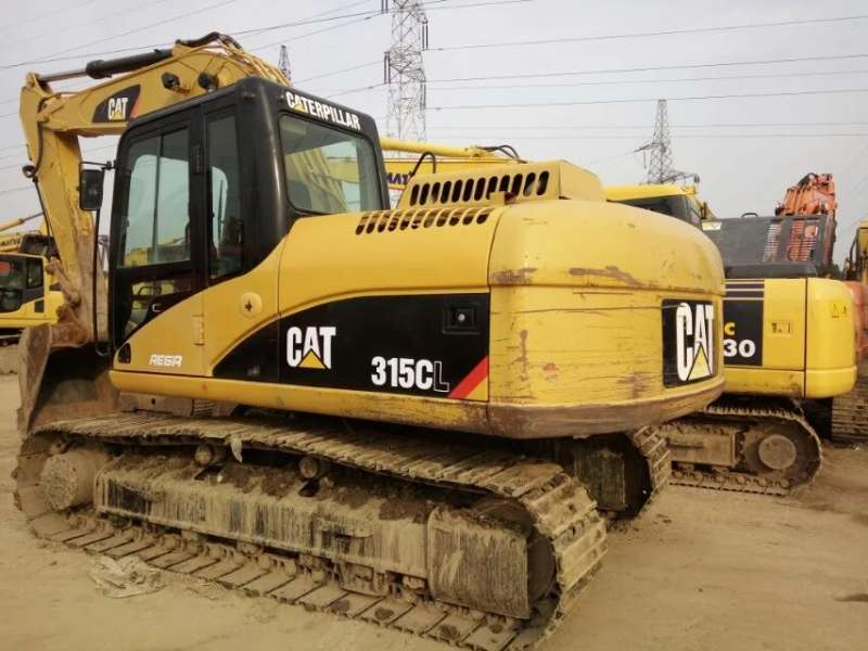 Used CAT 315CL Hydraulic Crawler Excavator In good condition