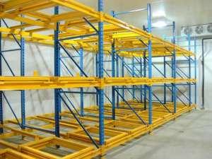 Push Back Pallet Rack For High-density Storage
