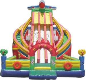 Inflatable Slide-Ocean Paradise