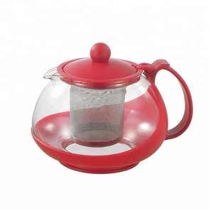 促销耐热玻璃咖啡&茶具,配有茶杯和咖啡杯