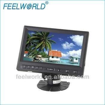 8英寸液晶宽屏触摸屏键欣达汽车监控汽车后视镜、VGA、AV、HDMI