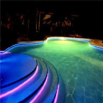 Fiber Optic Pool Light With 45w Led