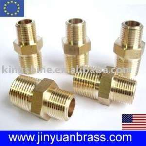 Brass Nipple Coupler Union Pipe Fitting Like