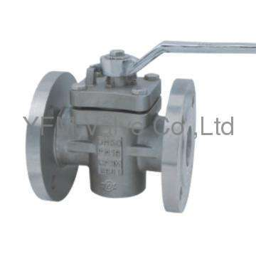 Stainless Steel lining PFA flanged type cock valve Like