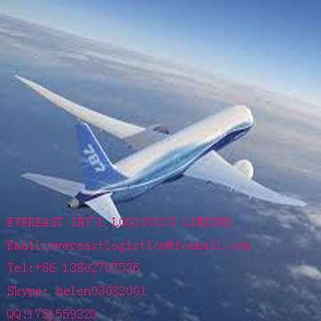 门到门空运货物从深圳、中国法国