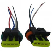 Automotive Connector cable with 150mm length four colours