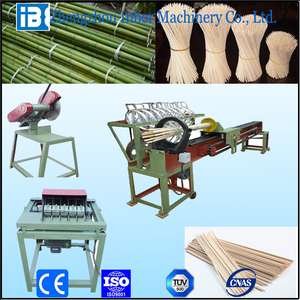 Bamboo wood sticks chopsticks incense toothpick making machine