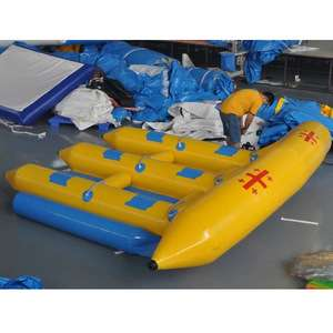 6 Seats Inflatable Flying Fish Manta Ray Fly Fish Inflatable For Sale