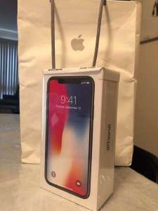 New Unlocked Brand Simfree Apple IPhone X 8, 8Plus 64GB And 256GB