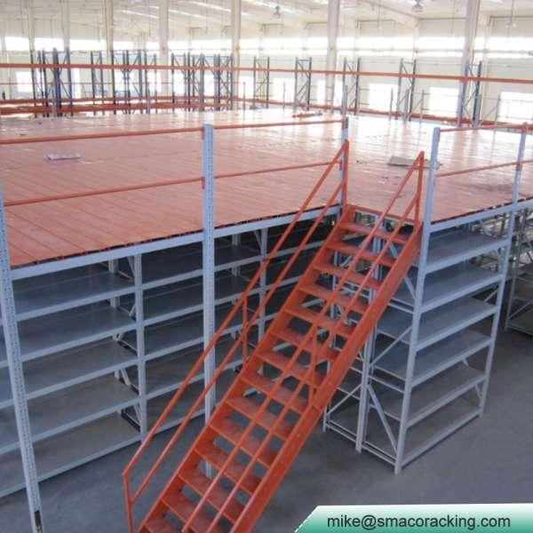 Steel Platform Multi Tier Wire Storage Racks