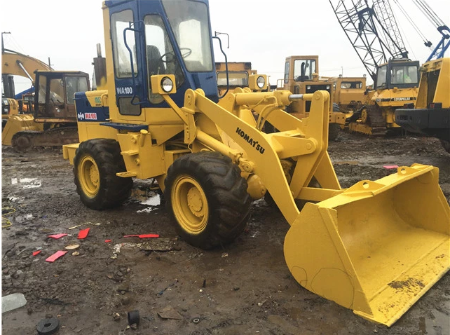 Used Mini Komatsu WA100 Wheel Loader
