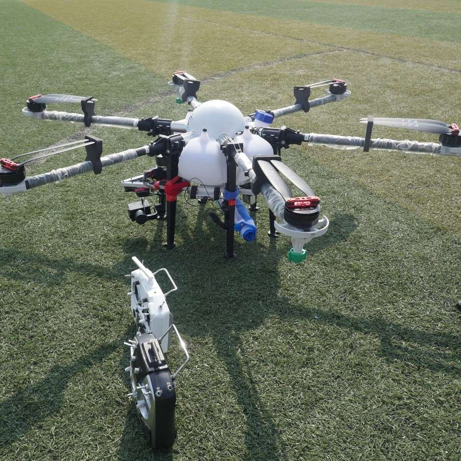 6-rotor 10KG Drone Agriculture Pesticides Spraying Machine Drone