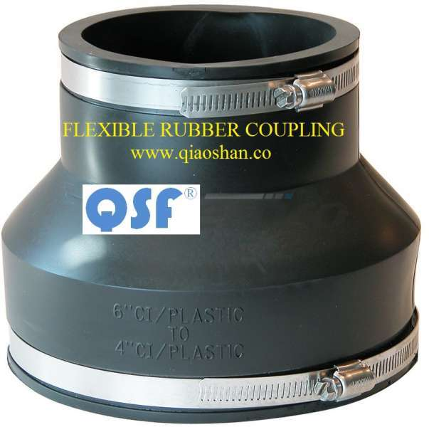 2 Inch to 12 Inch Flexible Coupling CI to Plastic