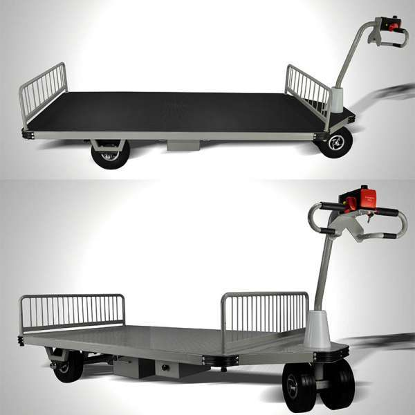 Warehouse tools Electric hand carts trolley transport tools
