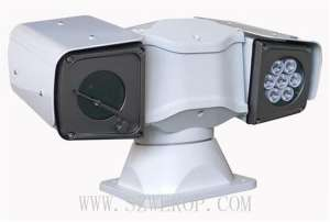 Vehicle PTZ Camera HD IR IP SD Storage Good  Vision For Police  Cars