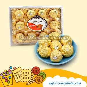 12件热销名牌花生/榛子礼盒巧克力