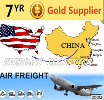 高质量的货物空运到洛杉矶美国广州中国