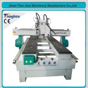 Lateral Drilling CNC Router Machine For Door Lock Making