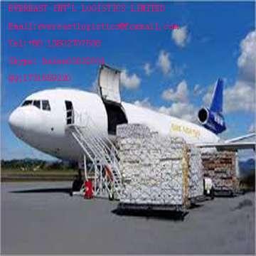 门到门空运货物从深圳、中国英国