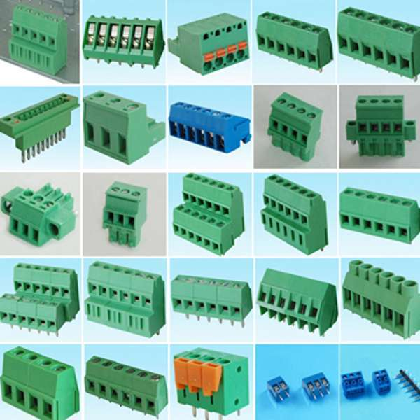 Terminal Block For Pcb Board Male Female Pluggable Type Connector